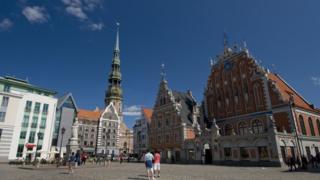 Riga old town, Latvia, 2012 file photo