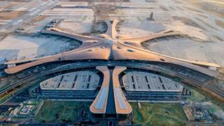 Thủ đô của TQ đang xây dựng một công trình được coi là 'cảng hàng không lớn nhất từ trước tới nay trong một tòa nhà'.