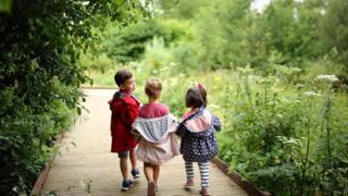 兒童和自然