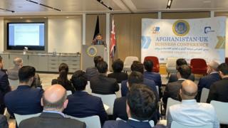 نشست تجارتی بریتانیا و افغانستان