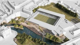 Bath stadium plans