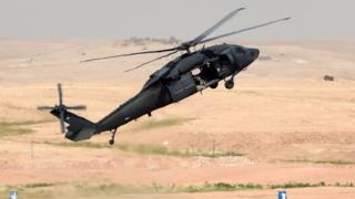 سعودی عرب کی فوج کا ہیلی کاپٹر