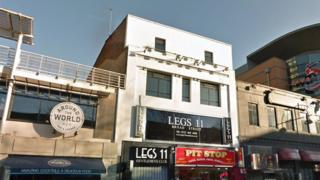 Legs 11 premises at 193 to 194 Broad Street