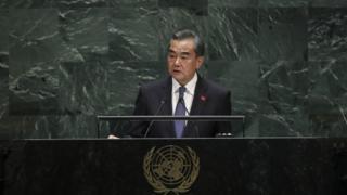 وانگ یی، وزیر امور خارجه چین