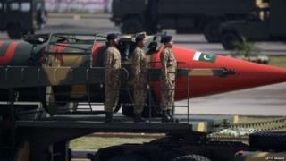 पाकिस्तान, क्षेपणास्त्र