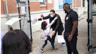 New York schools reopen