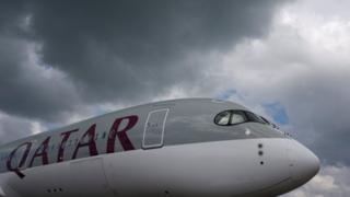 Qatar Airways uçağı