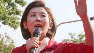 지난 11일 연설 도중 '달창'이라는 단어를 사용해 물의를 빚은 나경원 자유한국당 원내대표
