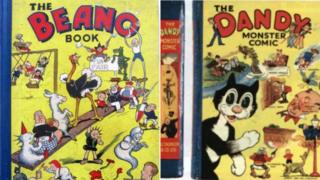 Beano and Dandy books