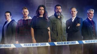 Seb Franklin, Gary Windass, Carla Connor, Peter Barlow, Nick Tilsley and Robert Preston from Coronation Street