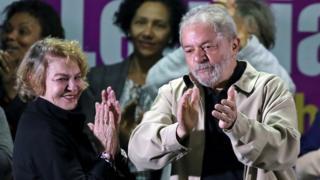 Лула да силва с женой