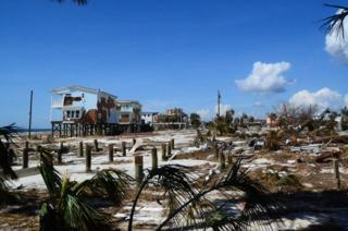 Devastation in Mexico Beach