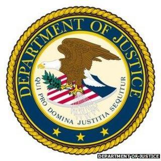 لوگوی وزارت دادگستری آمریکا