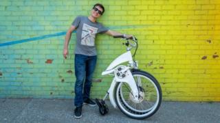 Lucas Toledo, CEO of Gi Fly Bike