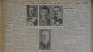 Газета La Nacion - 16 марта 1917 год