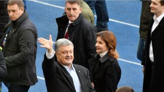 Петр Порошенко с женой Мариной