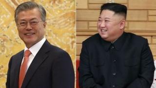 문재인 대통령, 김정은 위원장