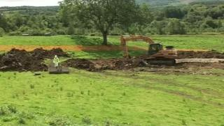 Illegal waste being removed from NI farm