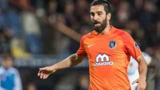 Arda Turan of Istanbul Basaksehir on April 21, 2018