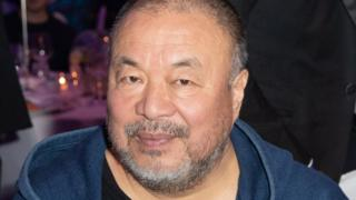 Ai Weiwei attended the Cinema For Peace Gala at the Berlin Film Festival on 11 February