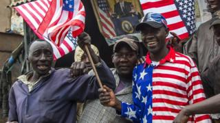 美国多年来把非洲置于次要战略地位