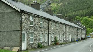 Terraced homes for sale in Aberllefenni