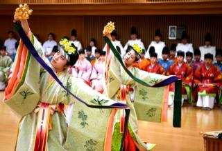 People take part in a Coming of Age Day celebration ceremony in Japan