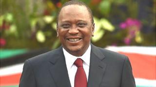 uhuru kenyata won hte repeat election in 2017