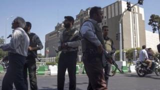 Jami'an tsaro na sintiri a birni Tehran