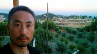 安田純平さんは、この写真が撮られたトルコからシリアに渡ったあと、行方が分からなくなっていた