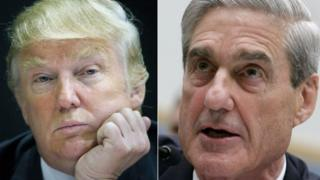 Trump ve Mueller kolajı