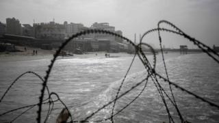 ساحل قطاع غزة