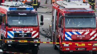 File pic of Dutch fire brigade