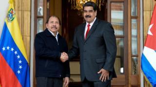 Daniel Ortega y de Nicolás Maduro