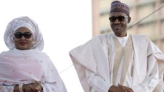 Aisha et Muhammadu Buhari