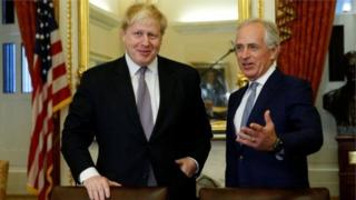 Boris Johnson iyo Bob Corker