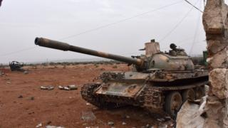 Igisirikare ca Syria ubu kigenzura 70% vy'akarere kahora mu minwe y'abarwanya leta