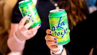 LaCroix fizzy drink