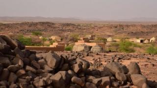 Le village d'Azel, près d'Agadez, dans le nord du Niger (illustration).