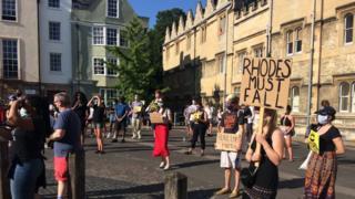 Rhodes demonstration