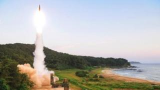 مانور نظامی کره جنوبی