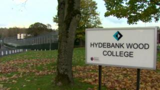 As well as female prisoners, young male offenders are also held on the same site in Hydebank Wood's secure college