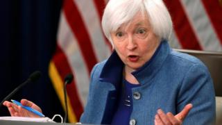 La presidenta de la Reserva Federal, Yanet Yellen.