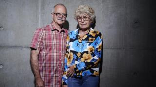Undated Channel 4 handout photo of David and Carolynne, who were a participants in the new Channel 4 series Smuggled, which tasks members of the public with entering the UK illegally in an experimental test of border security.