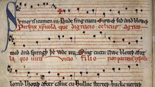 The Sumer Is Icumen In manuscript