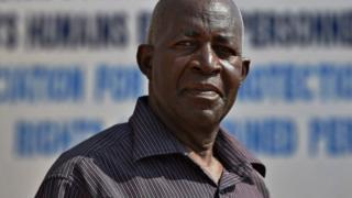Pierre Claver Mbonimpa, umuyobozi wa APRODH, rimwe mu mashyirahamwe yafatiwe ibyemezo na leta