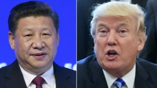 ABD Başkanı Donald Trump ve Çin Devlet Başkanı