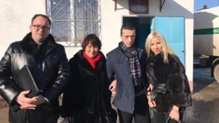 Микола Полозов виклав у своєму Twitter фото зі звільненим Хайсером Джемілєвим