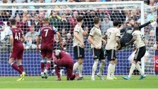 Westham ati Man United