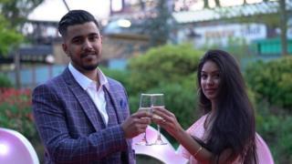 Vishal Panesar and Ravika Sabh